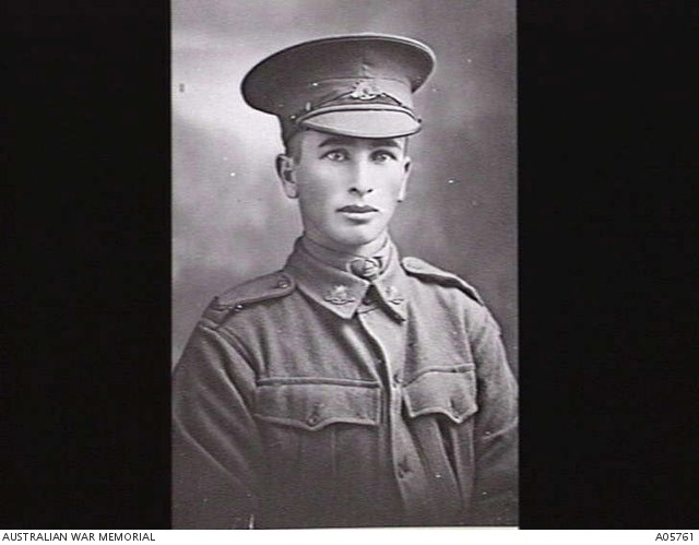 Sergeant James Lihou. Source Australian War Memorial
