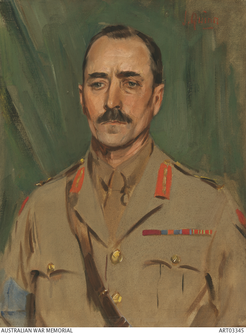 Brigadier-General James Heane. Source: Australian War Memorial